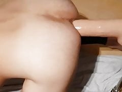 Twink Huge dildo machine