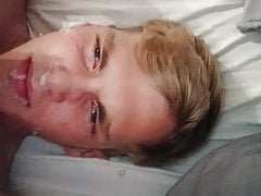 Young Blonde Cumshot
