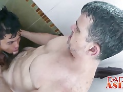 Older dude having a fantastic gay sex