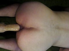 Big Dildo Deep In Ass - Please Comment