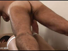 Latino twink RAILED raw by Daddy Dick