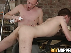 Sean Taylor has bondage fuck session with Casey O'Connel