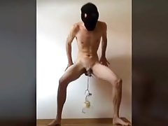 Slave boy CBT Training