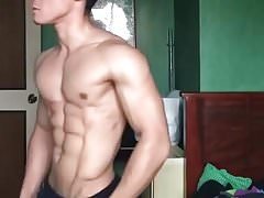super cute & hot fit asian boy (1'00'')