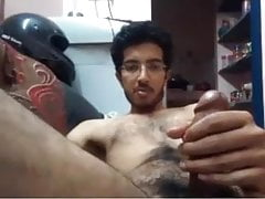 skinny hairy indian (no cum)