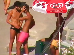 Let's spy next door Italian males in speedos 1u1y