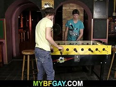 Teen boys have some gay fun when alone