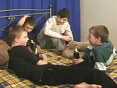 SMOOTH YOUNG BOYS HAVING GROUPSEX