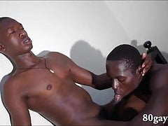 African Twinks Emma and Johnson Bareback